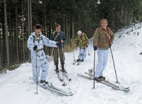 Druhý výlet do Brd na historických ski