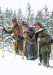 Výlet do Brd na historických ski