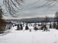 Brdský sníh a lyžování