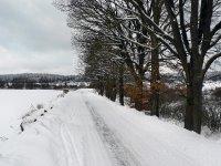 hráz Dolního padrťského rybníka