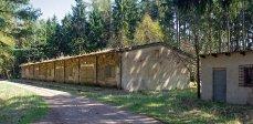 Kasárna Sv. Anna a muniční sklady nad Dobříší
