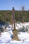 Milcův kříž poblíž chaty Roubenky