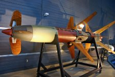 Raketa Rheintochter, vyvíjená též Engelovým týmem