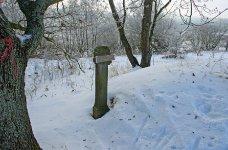 Střední Brdy pod sněhem