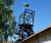 Vyhlídková věž na dole Řimbaba u Příbrami