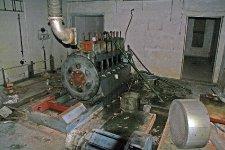 Dokonale obraná elektrocentrála v krytu jednoho z palpostů