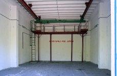 Interiér skladu bojových náloží