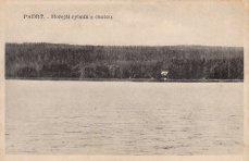 Padtť - Hořejší rybník s chatou VŠ sportu