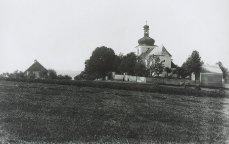 Strašice - kostel sv. Vavřince